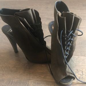 giuseppe for thakoon lace up boot heels